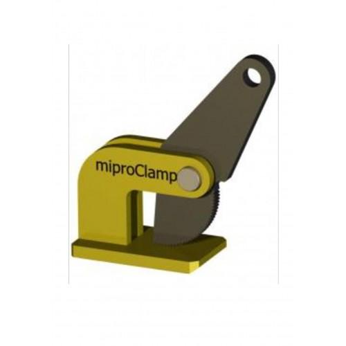 Uchwyt do cienkich blach w pozycji poziomej miproClamp DE-O