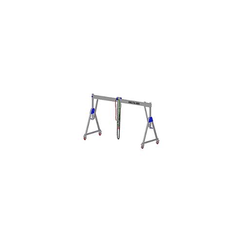 Aluminiowa wciągarka bramowa z możliwością przejazdu pod obciążeniem DELTA 600