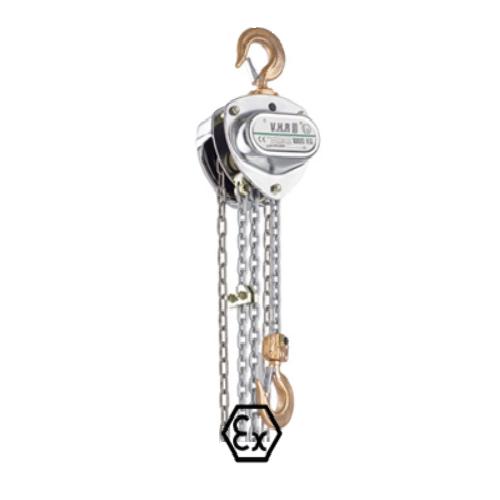 Wciągnik łańcuchowy VHR EX iskrobezpieczny