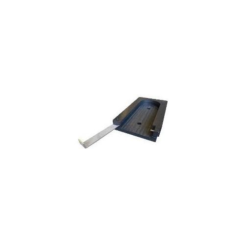 Podkład z wpustem i zabezpieczeniem pod stopy stabilizatorów GWP